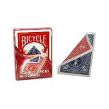 Bicycle Deck of 52 cards double backs RED and BLUE