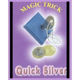 Quick Silver Key Through Coin