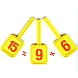 Magic Paddle 6 plus 9 equals 15