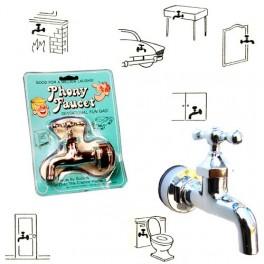 faux robinet farces et attrapes voici un robinet hyper r aliste qui fera un gag sensationnel. Black Bedroom Furniture Sets. Home Design Ideas