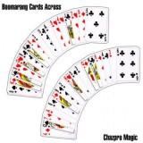 Boomerang Cards Across by Chazpro Magic
