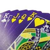 Purple Deck Cartes Bicycle
