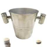 Professional Tricked Coin Pail by Premium Magic