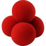 4 Balles mousse super soft 70 mm