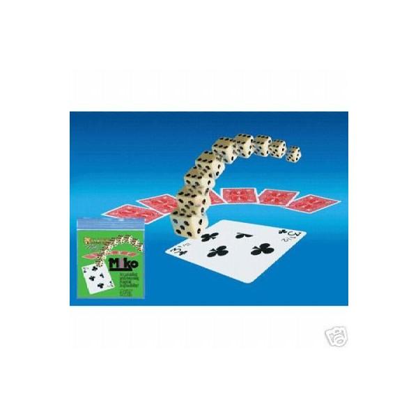 Miko tour de magie comique six cartes sont m lang es et pos es face cach sur la table une - Tour de magie table volante ...