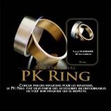 Gold PK Ring - Bague Dorée Aimantée
