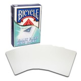 Bicycle 52 cards - Blank Faces / Blue Backs