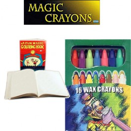 Crayons de coloriage magiques