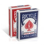Bicycle Rider Back Rouge - jeu de cartes ancien modèle