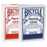 2 jeux de cartes Bicycle SECONDS