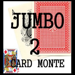 Bonneteau a 2 cartes JUMBO