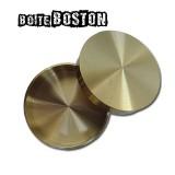 Boîte BOSTON avec 4 pièces demi dollar