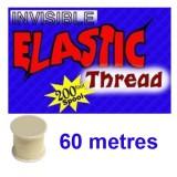Fil Invisible Elastique 20 M Qualité Supérieure