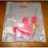 Sacs à forcer translucides à 3 compartiments