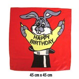Foulard Happy-Birthday 45 cm