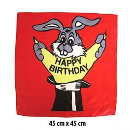 Foulard Happy-Birthday 45 cm