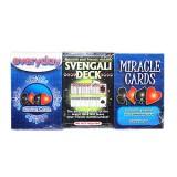 3 Jeux de cartes Trio-Magiques