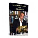 DVD La celebre routine des 3 gobelets par J-P Vallarino