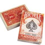 Bicycle Vintage 1800 (MARQUÉ) dos Rouge