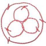 3 Cordes séparées forment 3 anneaux puis une longue corde
