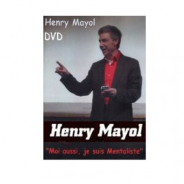 """DVD Henry Mayol """"Moi aussi, je suis Mentaliste"""""""