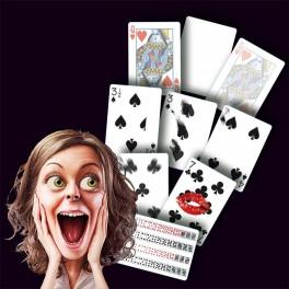 Set de 7 cartes Gaff plus un jeu normal !