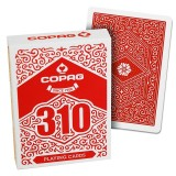 Copag 310 Jeu de Cartes - Slim Line - Rouge