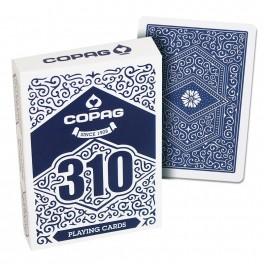 Copag 310 Jeu de Cartes - Slim Line - Bleu