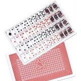 52 Cartes Imprimées sur 1 Carte Jumbo