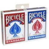 Deux jeux de cartes Bicycle Standard