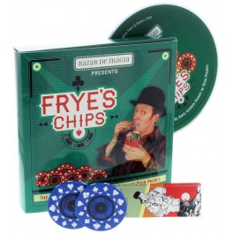 Frye s Chips by Charlie Frye (DVD + Gimmick)