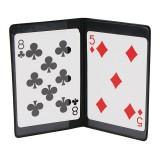 Porte-cartes avec un compartiment caché