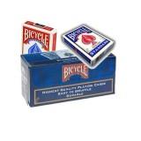 Cartouche,12 jeux de Cartes Bicycle, 6 Bleu & 6 Rouge